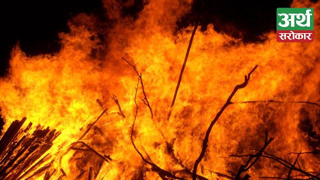 Fire destroys tea worth Rs 1 million